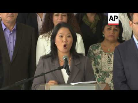 Keiko Fujimori concedes in Peru