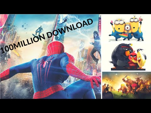 Most Downloaded Android Games Of The World |100 Million|