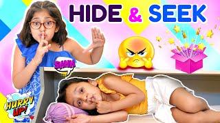 HIDE & SEEK Game CHALLENGE | ToyStars