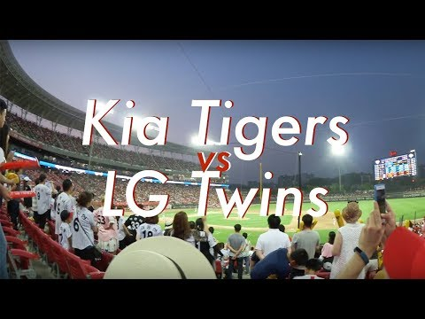 My First Korean Baseball Game | Kia Tigers vs. LG Twins