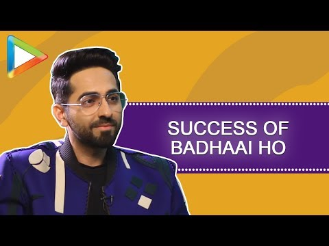 Ayushmann Khurrana's CLASSY full interview on  SUCCESS of Badhaai Ho, AndhaDhun & more