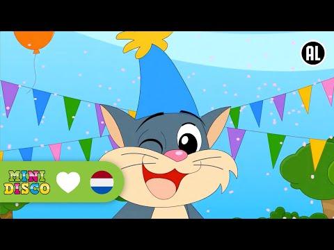 De Kop Van De Kat | Kinderliedjes | TEKENFILM | Liedjes voor peuters en kleuters | Minidisco