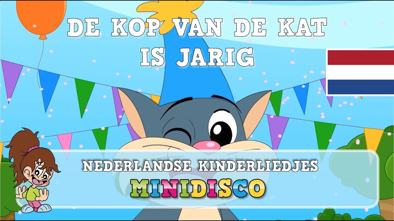 de kop van de kat is jarig songtekst De Kop Van De Kat | Kinderliedjes | TEKENFILM | Liedjes voor  de kop van de kat is jarig songtekst