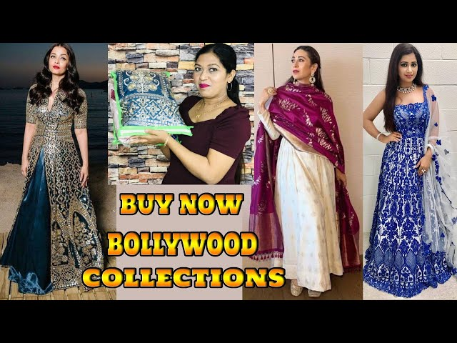 Partywear Readymade Bollywood Replica Dress /Indian Ethnic Collections /Online shopping Review / COD