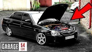 ДРИФТ PRIORA купили SR20DET \ BMW X5 v12 Гараж 54 LIFE