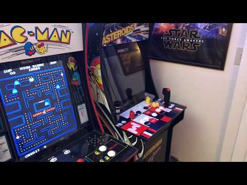 Arcade1Up Pac-Man Mods: Leaf Style 4-way Pac-Pro Joystick, GoldLeaf Pushbuttons And RetroPie