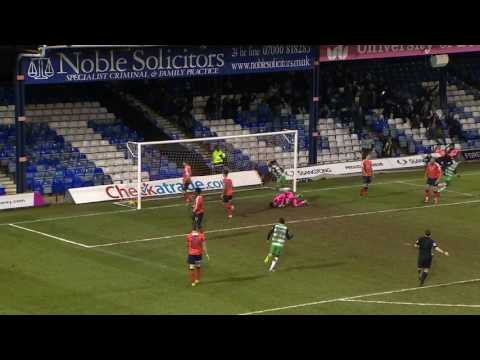 HIGHLIGHTS: LUTON TOWN 5-2 YEOVIL TOWN