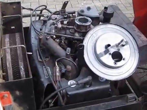 Kohler Motor Simplicity 20 HP - YouTube