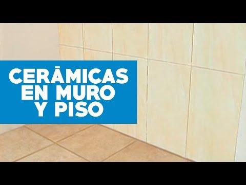 C mo instalar cer micas en muro y piso youtube for Ceramica para cocina