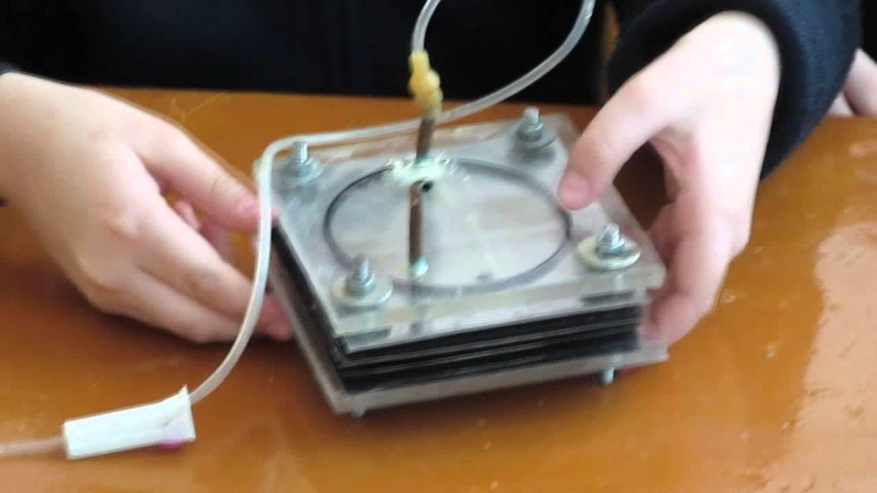Проект Водородный генератор Видео 3 Собираем электролизер