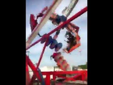 FAIR RIDE ACCIDENT OHIO STATE  (VIDEO)
