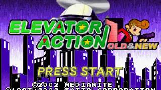 Game Boy Advance Longplay [168] Elevator Action: Old & New