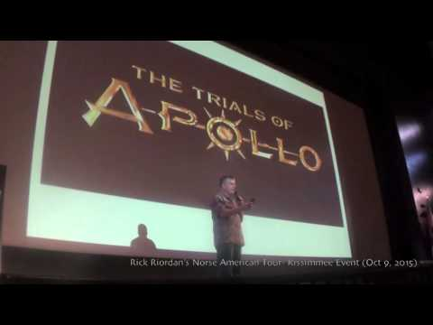 Rick Riordan Talks...TRIALS OF APOLLO!