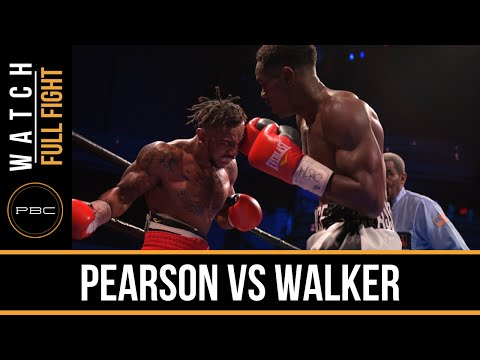 Pearson vs Walker FULL FIGHT: Dec. 18, 2015 - PBC on Spike