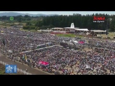 Podróż apostolska papieża Franciszka do Chile : Msza św. na lotnisku Maquehue
