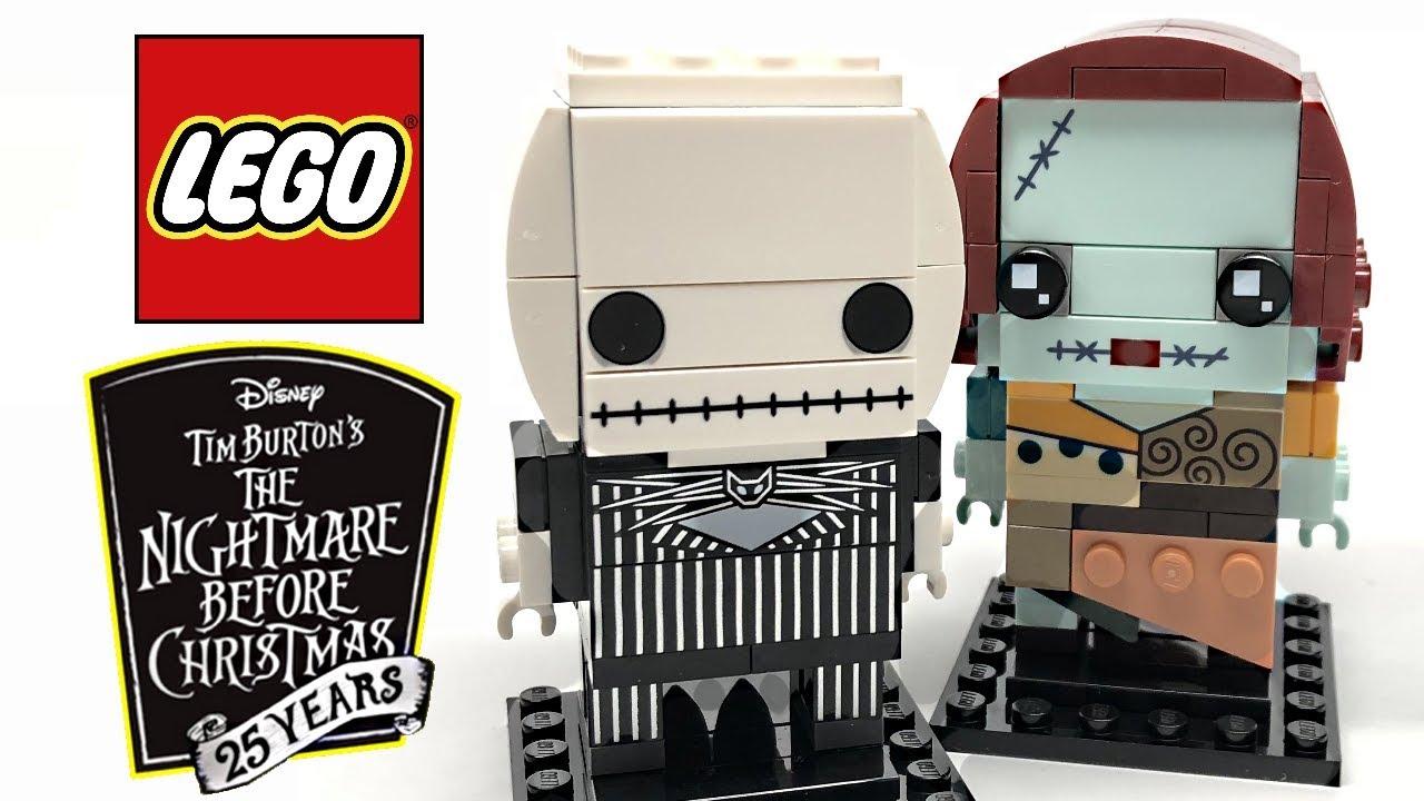 lego nightmare before christmas brickheadz review 2018 set 41630
