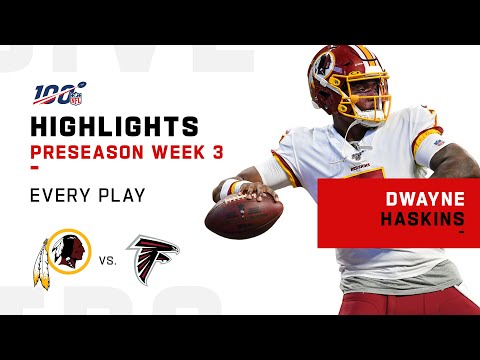 Every Dwayne Haskins Play vs. Falcons | NFL 2019 Highlights