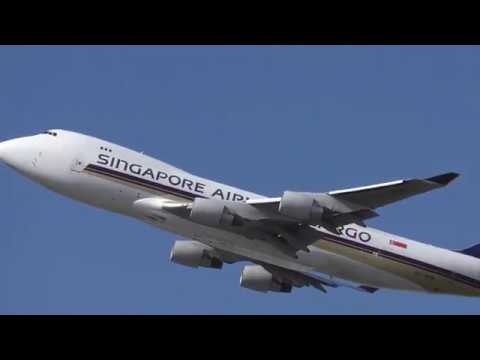 4K Fabulous Planespotting Sydney Airport International Car Park Runway 34