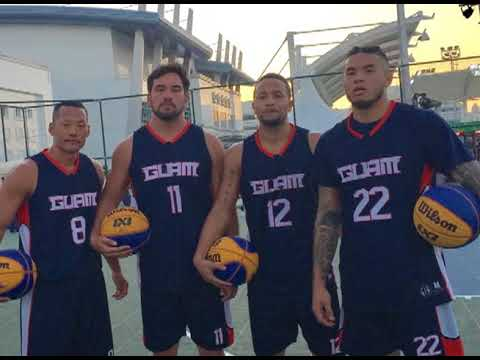 Guam competes in Asian Indoor Games 3-on-3 tournament