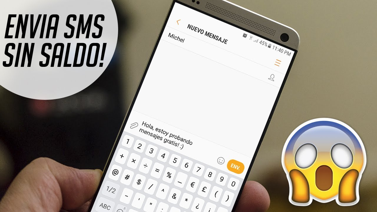 Como Enviar Mensajes De Texto Gratis Sin Saldo Desde Tu Teléfono 2017 Youtube