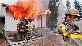 Юмор с огоньком ★ ПОЖАРНЫЕ ПРИКОЛЫ ! демотиваторы ★FIRE FUN ! demotivational poster