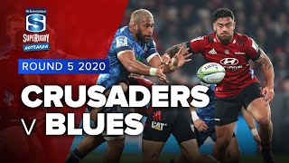 Super Rugby Aotearoa | Crusaders v Blues - Rd 5 Highlights