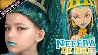 Video Monster High Nefera De Nile Doll Costume Makeup Tutorial for Halloween or Cosplay  |  KITTIESMAMA download MP3, 3GP, MP4, WEBM, AVI, FLV November 2017