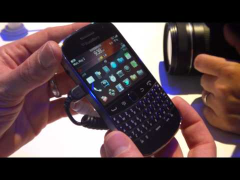 Hands on with the BlackBerry Bold 9900/9930
