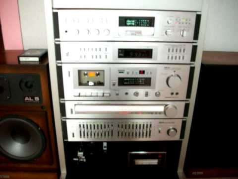Akai Vintage Hifi Tower 1981 Alpheratz Speakers Youtube