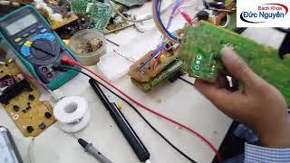 Hướng dẫn tự kiểm tra sửa lỗi EC của máy giặt Sanyo