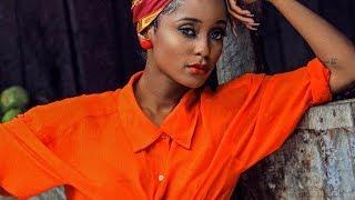 Mtazame Vanessa Mdee akifanya mazoezi na bendi Gabon