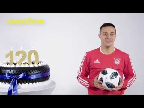 120 Years of Goodyear made FC Bayern sing