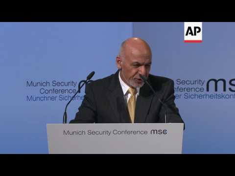 Ghani: Afghanistan first line of world's defence