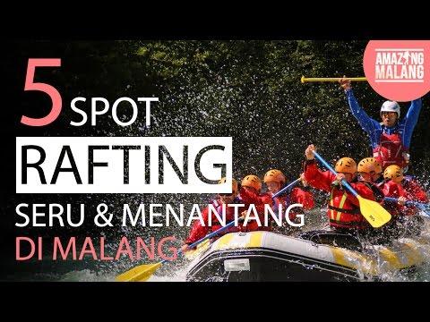 5 Spot Rafting Seru dan Menantang di Malang - Panduan Wisata Malang