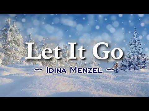 Let It Go - KARAOKE VERSION - As Popularized By Idina Menzel