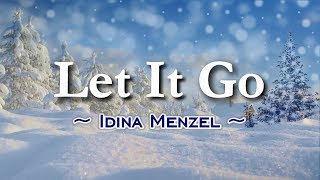 Let It Go - KARAOKE VERSION - As popularized by Idina Menzel