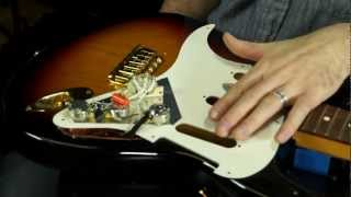 fender single coil strat pickup