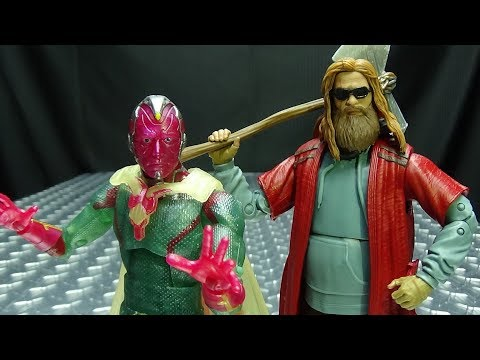 Marvel Legends VISION & FAT THOR: EmGo's Reviews N' Stuff