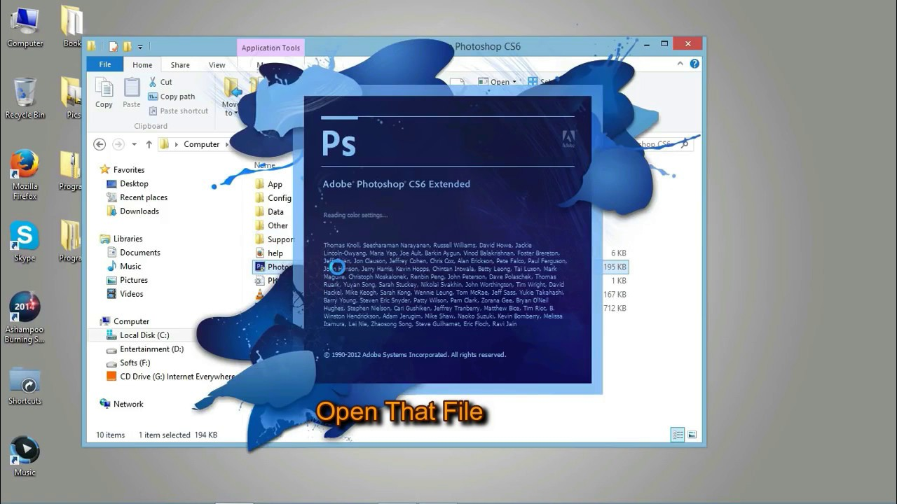 photoshop cs6 free download full version