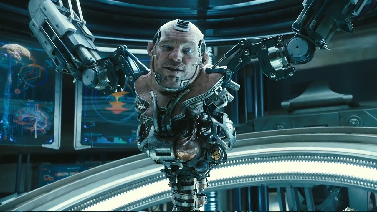 Futuristic World where all Humans are made into Cyborg to use Power - Alita 2018