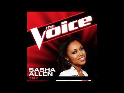 "Sasha Allen: ""Try"" - The Voice (Studio Version)"