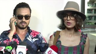 Irrfan Khan's FUNNY Reaction To Medias Question On Kangana Ranaut Controversy