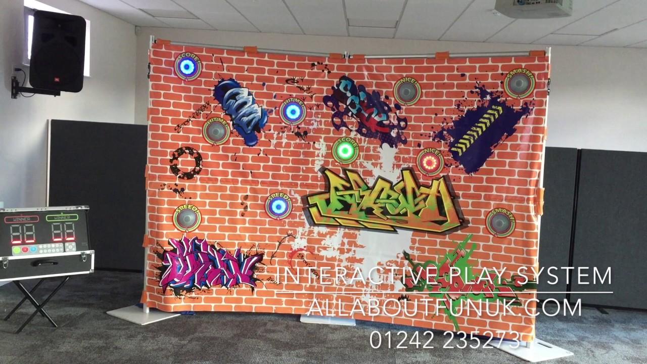 Interactive graffiti wall uk - Interactive Play System Graffiti Wall All About Fun Uk Com