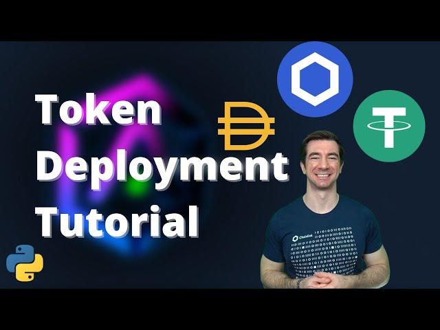 Create your own Blockchain ERC20 Token | Python, Brownie, Solidity
