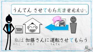 Learn Japanese (JLPT N3): Causative form + kureru/ageru/morau