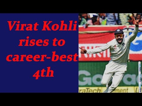 Kohli Jumps to 4th position in ICC Test ranking   Oneindia
