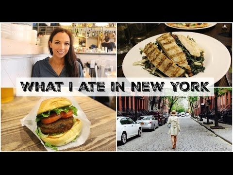 What I Ate In New York | Healthy Eating & Indulging!