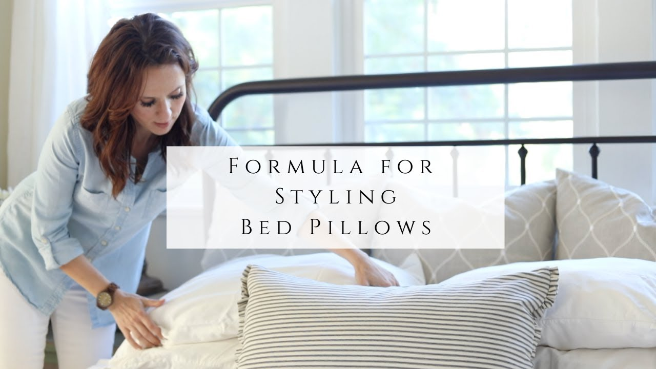 Formula for Styling Bed Pillows