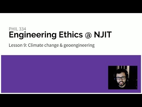 Lesson 9: Climate Change and Geoengineering