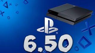 Actualización 6.50 de PS4